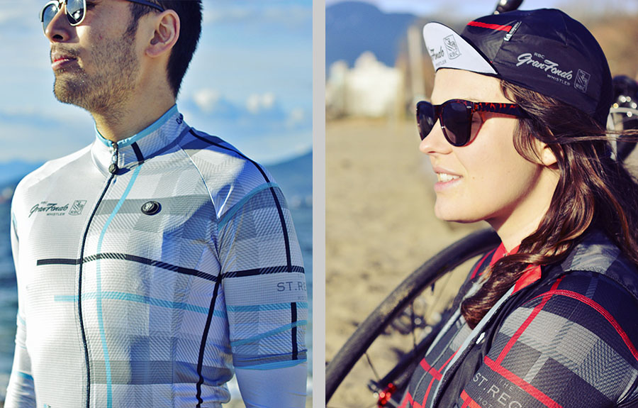 Get your beautiful 2018 performance Safetti kit, modelled on Kitsilano Beach