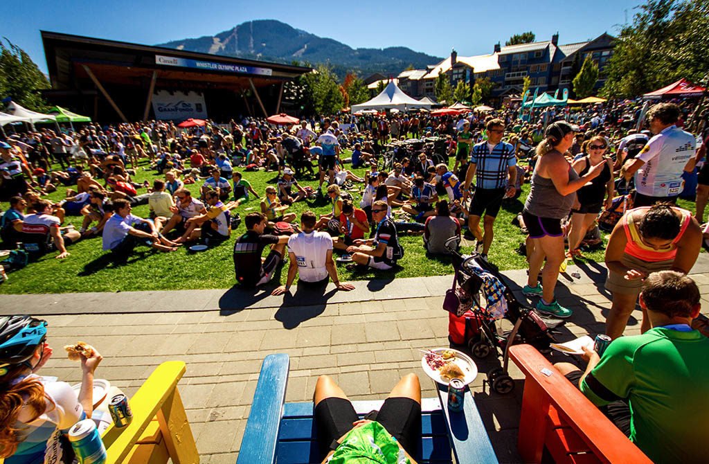 Celebration Plaza in Whistler