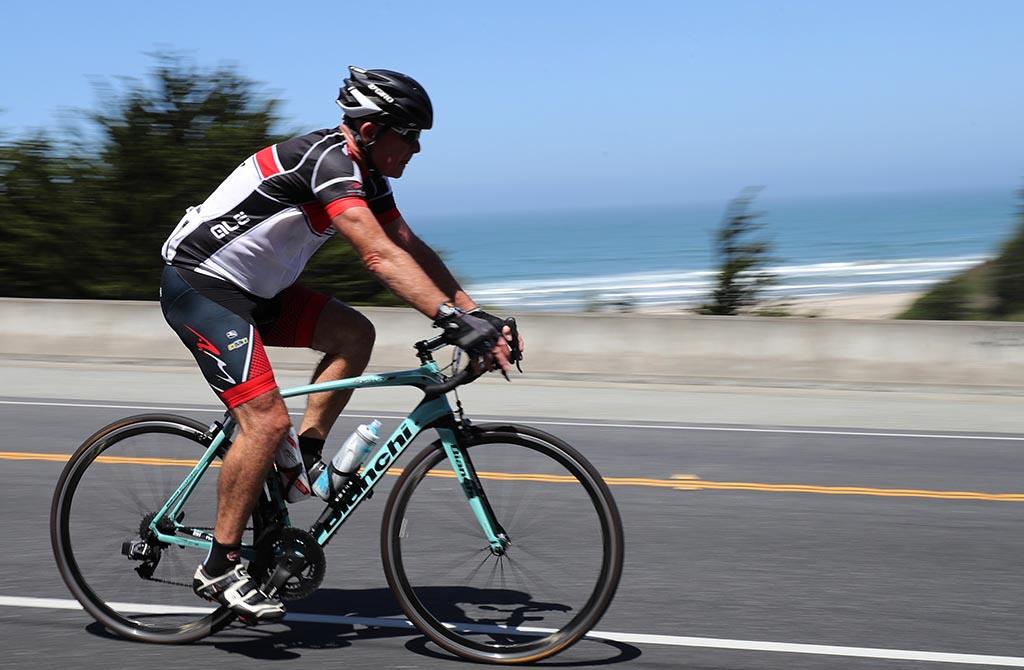 RBC GranFondo Silicon Valley rider