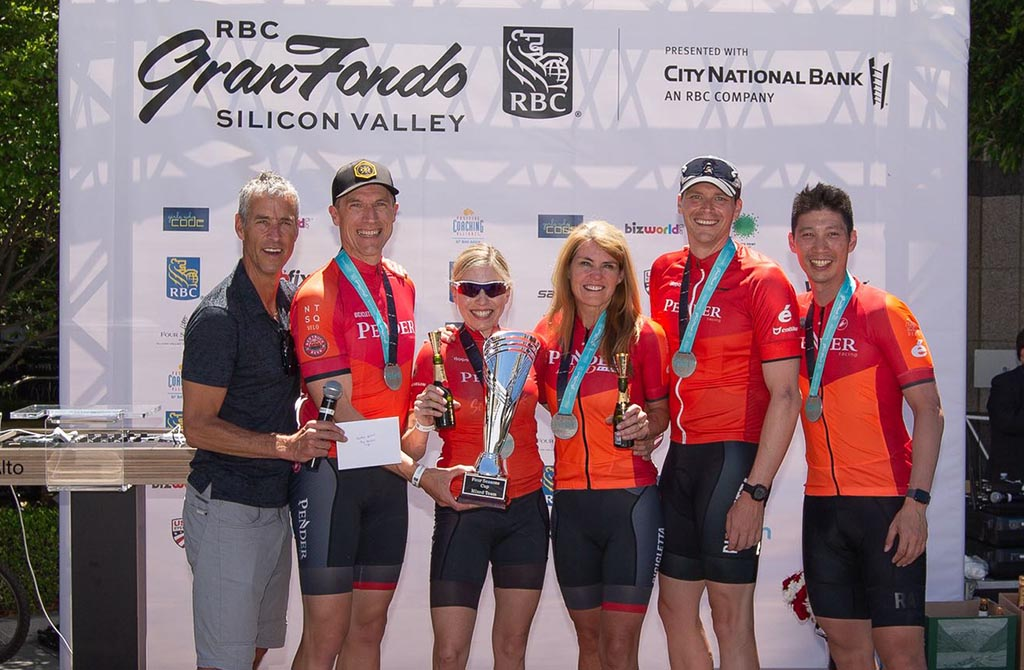 RBC GranFondo Silicon Valley Four Seasons Cup winners