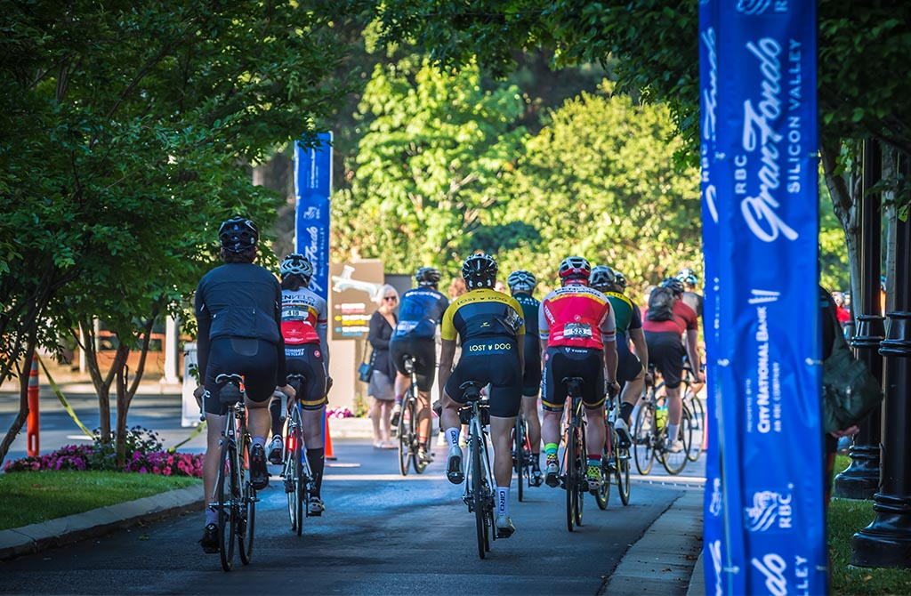 RBC GranFondo Silicon Valley start