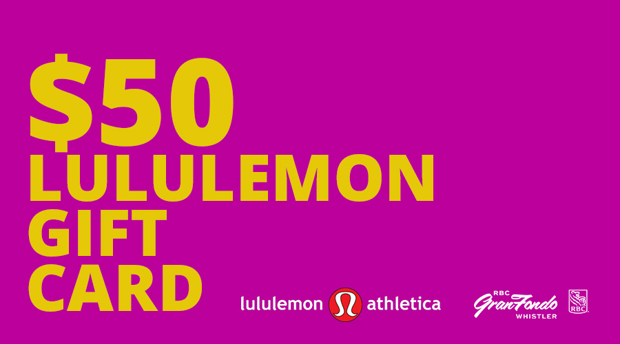 Free lululemon gift card