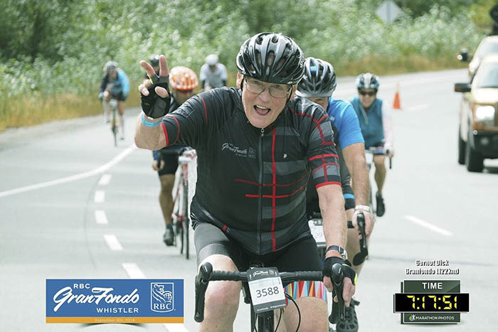 Gernot Dick during RBC GranFondo Whistler 2018