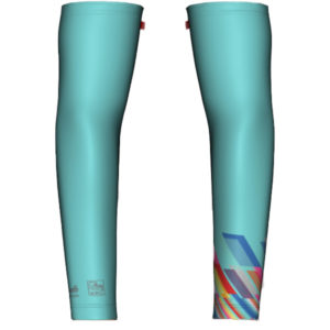 Whistler 2019 Celeste Arm Warmers - Top