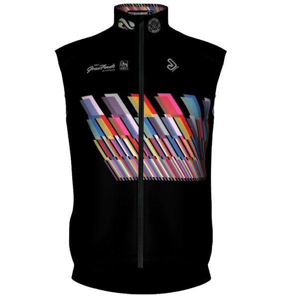 Whistler 2019 Black Vest Front