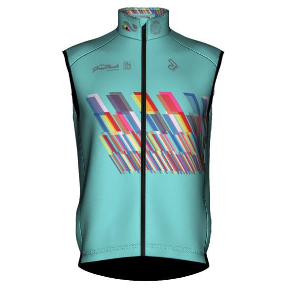 Whistler 2019 Vest Teal Front