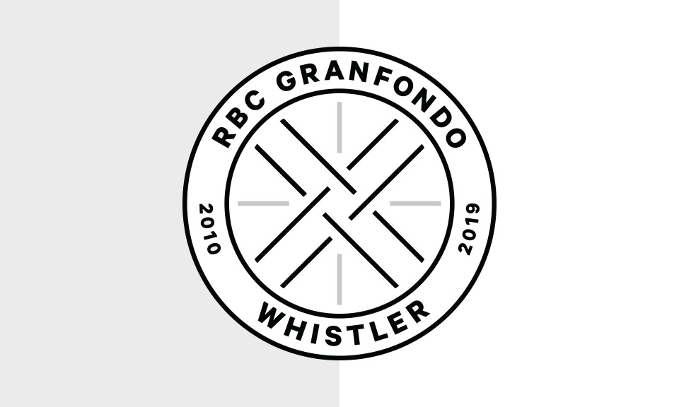 RBC GranFondo Whistler 10th year crest