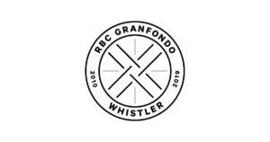 RBC GranFondo Whistler 10 year anniversary crest
