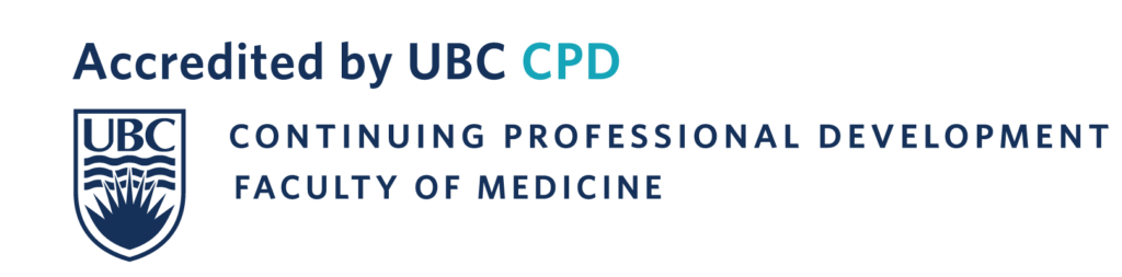 Accredited by UBC CPD logo