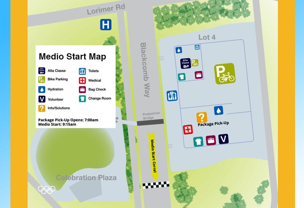 Medio start map