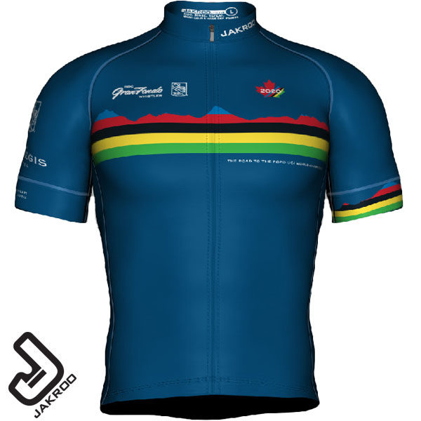 GranFondo Whistler Training Jersey Front View
