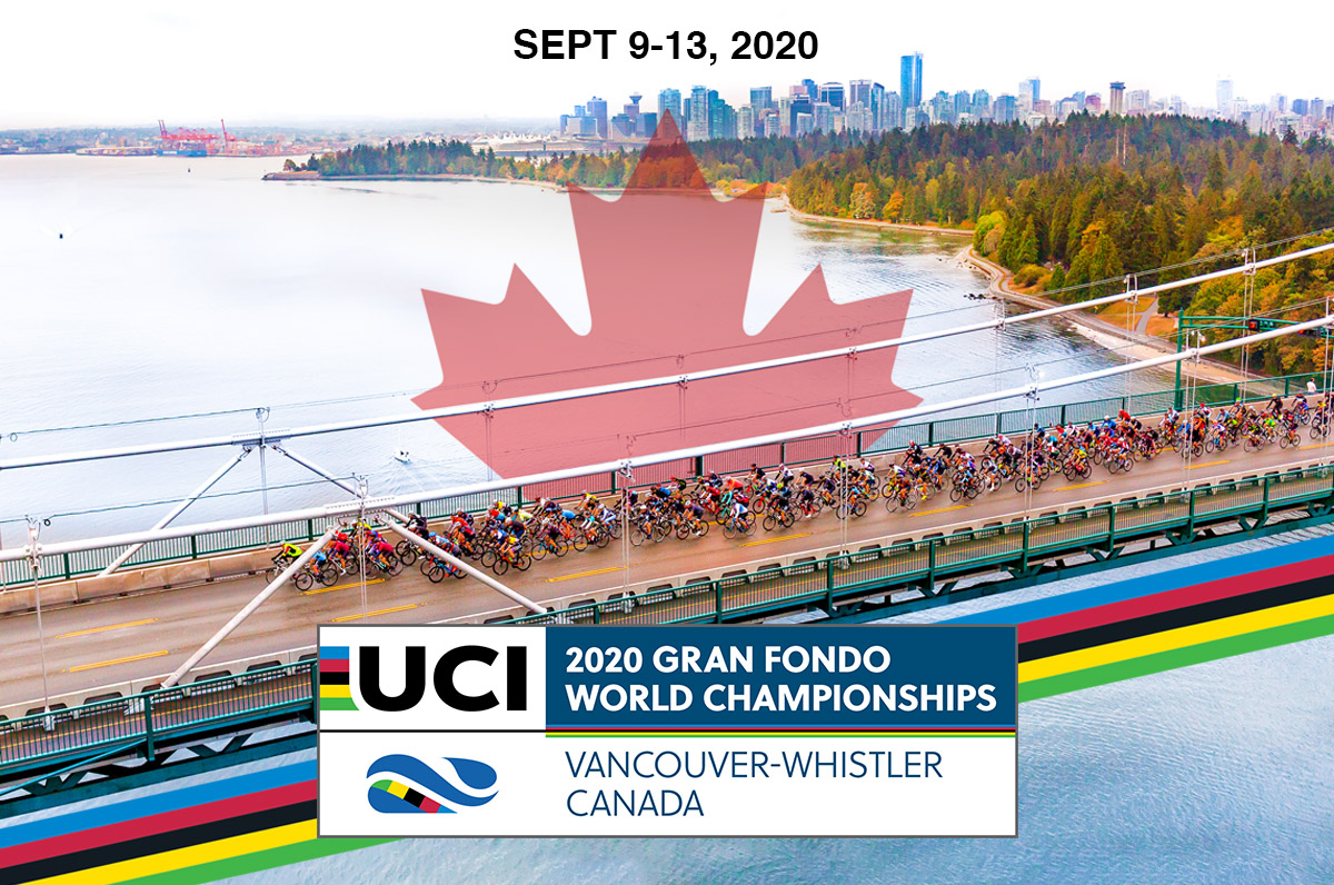 Vancouver hosts the UCI Gran Fondo World Championships
