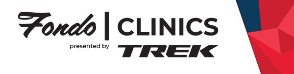 Fondo Clinics p/b Trek logo